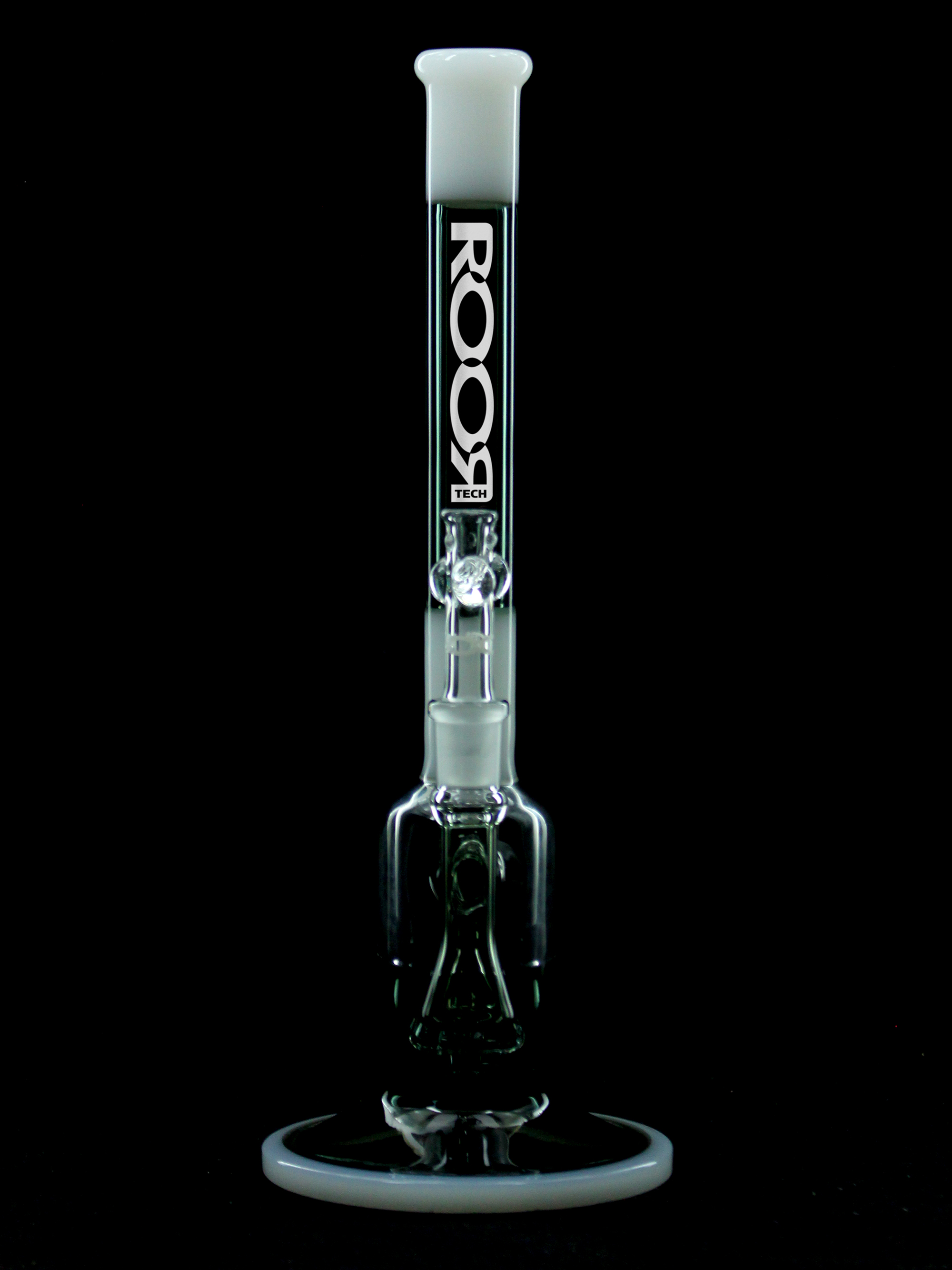 "ROOR® Tech <br>14"" Bubbler<br>Smokey Grey & White"