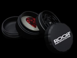 ROOR Grinder 4pc Large <i>BLACK</i>