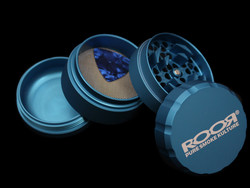 ROOR Grinder 4pc Large <i>BLUE</i>