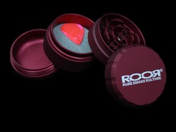 ROOR Grinder 4pc Large <i>RED</i>