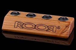 ROOR Small 4-Hole Bowl Holder  14.5mm Light Wood